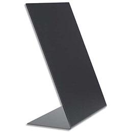 Ardoises de table en forme de L Securit - A5 - devant mat et arrière brillant - lot de 3 ardoises (photo)