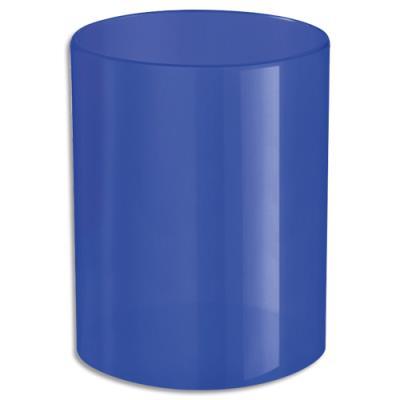 Pot àcrayons bleu