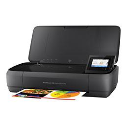 HP Officejet 250 Mobile All-in-One - Imprimante multifonctions - couleur - jet d'encre - Legal (216 x 356 mm) (original) - A4/Legal (support) - jusqu'à 8 ppm (copie) - jusqu'à 10 ppm (impression) - 50 feuilles - USB 2.0, hôte USB, Wi-Fi