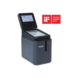 Brother P-Touch PT-P950NW - Imprimante d'étiquettes - transfert thermique - Rouleau (3,6 cm) - 360 x 720 dpi - jusqu'à 60 mm/sec - USB 2.0, LAN, Wi-Fi(n) (photo)