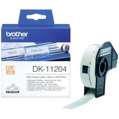 Brother DK-11204 - Papier thermique