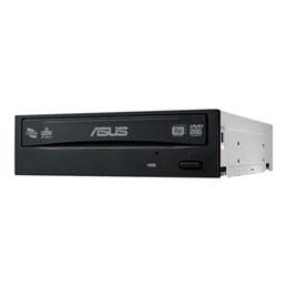 ASUS DRW-24D5MT - Lecteur de disque - DVD±RW (±R DL)/DVD-RAM - 24x24x5x - Serial ATA - interne - 5.25'' - noir (photo)