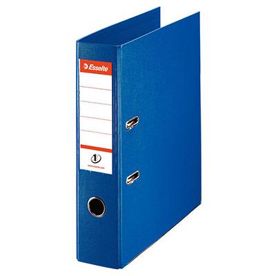 Classeur à levier N°1 Power - polypropylène - dos 75 mm - coloris bleu