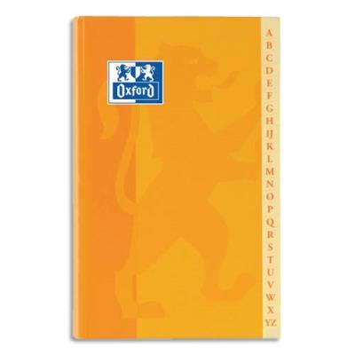 Répertoire Conquérant - reliure brochure - 11x17 cm- 192 pages - petits carreaux - papier 90g