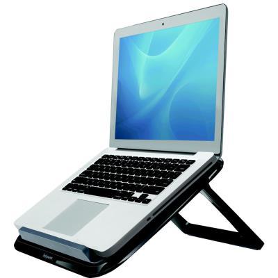 Support ordinateur portable Fellowes Quick Lift - Noir