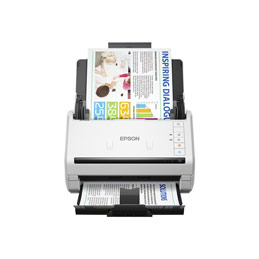 Epson WorkForce DS-530 - Scanner de documents - Recto-verso - A4 - 600 dpi x 600 dpi - jusqu'à 35 ppm (mono) / jusqu'à 35 ppm (couleur) - Chargeur automatique de documents (50 feuilles) - jusqu'à 4000 pages par jour - USB 3.0 (photo)