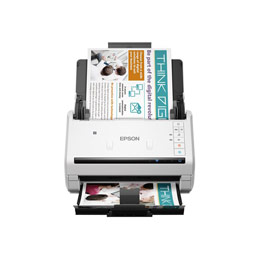 Epson WorkForce DS-570W - Scanner de documents - Recto-verso - A4 - 600 dpi x 600 dpi - jusqu'à 35 ppm (mono) / jusqu'à 35 ppm (couleur) - Chargeur automatique de documents (50 feuilles) - jusqu'à 4000 pages par jour - USB 3.0, Wi-Fi (photo)