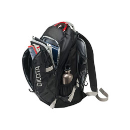 Dicota Active - Sac à dos pour ordinateur portable - 15.6'' - noir (photo)