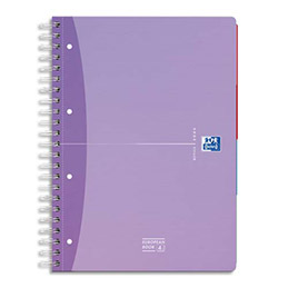 Cahier european book beauty oxford reliure int grale a5 200 pages petits carreaux - Cahier oxford office book ...