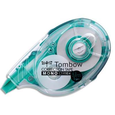 Roller de correction Tombow à déroulement latéral - 4,2 mm x 16 m - rechargeable