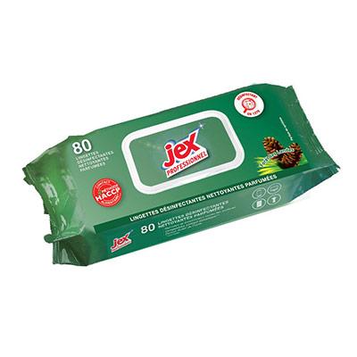 Professionnel - lingettes nettoyantes - Forêt des landes - pack promo : 2 paquets de 80 lingettes + 1 OFFERT - paquet 3 unités