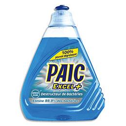 Liquide vaisselle mains XL+ Paic - Express clean - destructeur de bactéries - flacon de 500 ml (photo)