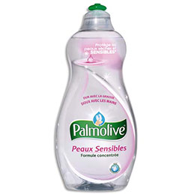 Liquide vaisselle Palmolive pour peaux sèches et sensibles - flacon de 500 ml (photo)