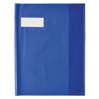 Protège cahier - 17x22 cm - coloris bleu roy (photo)