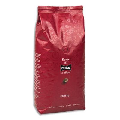 Café Miko Expresso en grains Forte - 70% Arabica 30% Robusta - paquet d'1 Kg