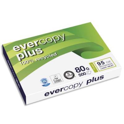 Papier recyclé Evercopy + - blanc - 80 g - A3 - ramette de 500 feuilles