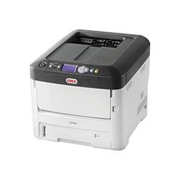 Oki c712n imprimante couleur led a4 1200 x 600 ppp jusquà 36 ppm mono jusquà 34 ppm couleur capacité 630 feuilles usb 2.0 gigabit lan