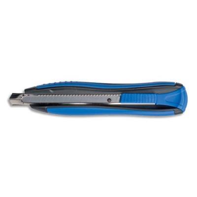 Cutter metal et plastique Zenoa Sensitiv Maped - lame 9 mm autobloquante - bleu