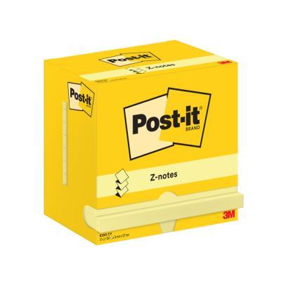 Z-Notes Post-it - format 76 x 127 mm - jaune - bloc de 100 feuilles