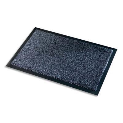 Tapis d'accueil Paperflow Premium en polyamide - 60 x 90 cm - trafic intense - gris