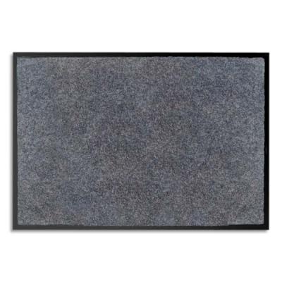 Tapis d'accueil odoriférant Paperflow en polyamide - 60 x 80 cm - trafic important - gris