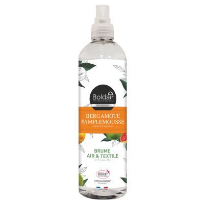 Brume Air et Textile - Parfum d'ambiance Bergamote Pamplemousse - Spray 400 ml