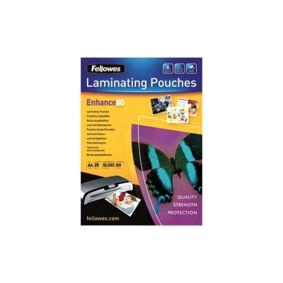 Pochettes de plastification Fellowes ImageLast A4 80 microns - boîte de 25