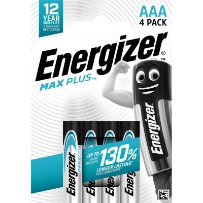 Piles Energizer Max Plus - AAA - blister de 4 piles