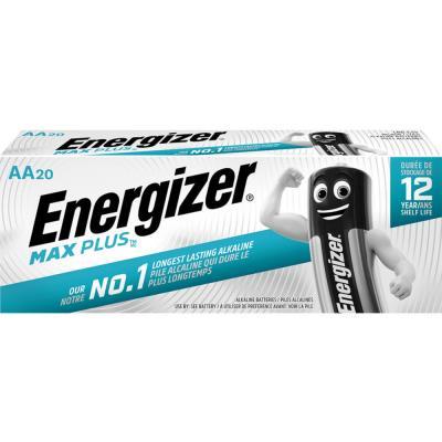 Piles Energizer Max Plus - AA - blister de 20 piles