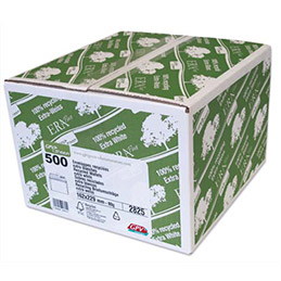 Boite de 500 enveloppes recyclées GPV - extra blanches  - 80g - format C5 162x229 mm (photo)