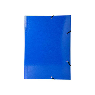Chemise 3 rabats à élastiques Exacompta Iderama - en carte pelliculée 7/10e - format A3 - coloris assortis