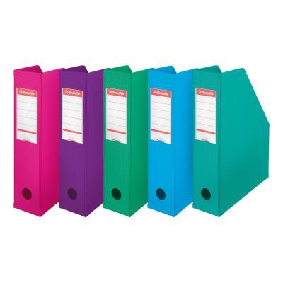 Porte-revues Esselte Confort Class - dos 7 cm - assortis pastel
