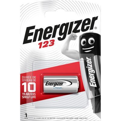 Pile Energizer 123AP - lithium - blister de 1 pile