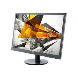 AOC Pro-line M2060SWDA2 - Écran LED - 19.53' (19.53' visualisable) - 1920 x 1080 Full HD (1080p) - MVA - 250 cd/m² - 3000:1 - 5 ms - DVI, VGA - haut-parleurs - noir (photo)