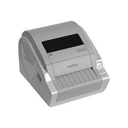 Brother TD-4100N - Imprimante d'étiquettes - papier thermique - Rouleau A6 (10,5 cm) - 300 ppp - jusqu'à 110 mm/sec - USB, LAN, série (photo)