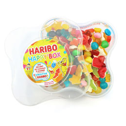 Assortiment de bonbons Happy'Box - boîte de 600 g (photo)