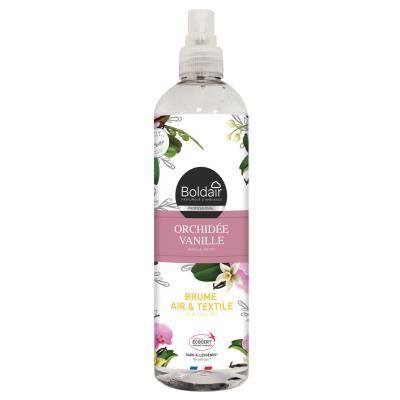 Brume Air et Textile - parfum d'ambiance orchidée vanille - Spray 400 ml