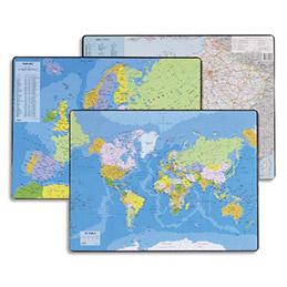 Sous-mains carte de France format 53 x 40 cm