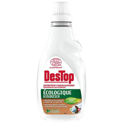 Entretien canalisations écologique - parfum eucalyptus - flacon 750 ml