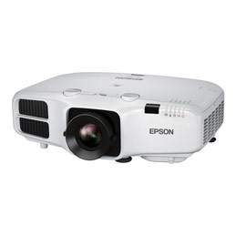 Epson EB-5510 - Projecteur LCD - 5500 lumens (blanc) - 5500 lumens (couleur) - XGA (1024 x 768) - 4:3 - LAN (photo)