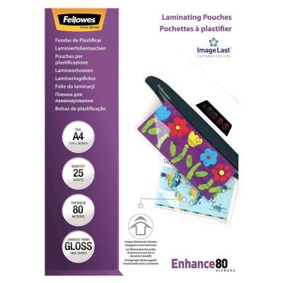 Pochettes de plastification Fellowes ImageLast A3 80 microns - boîte de 25