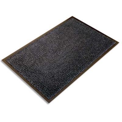 Tapis d'accueil Floortex Ultimat - 120 x 180 cm - trafic intense - gris (photo)
