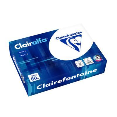 Papier Clairalfa - extra-blanc - 80 g - A5 - ramette de 500 feuilles