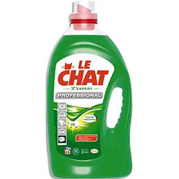 Lessive Liquide gel concentré Le Chat - tous textiles - bidon de 5 L (68 doses) (photo)
