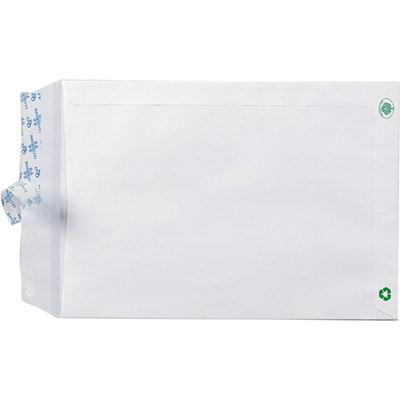Pochette administrative recyclée blanche La Couronne - 229 x 324 mm - Avec fenêtre 50 x 110 - 90 g/m² - boîte de 250 (photo)