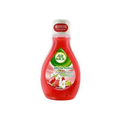 Mèche désodorisante Airwick - parfum framboisier en fleurs - 375m l