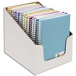 Carnets de notes Canson - couverture en polypro - 14,8 x 21 cm - 100 pages - 120g - coloris assortis (photo)