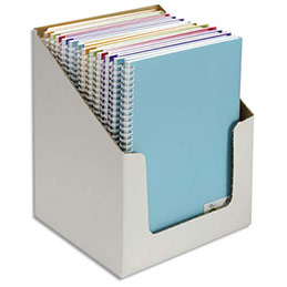 Carnets de notes Canson - couverture en polypro - 21 x 29,7 cm - 100 pages - 120g - coloris assortis (photo)