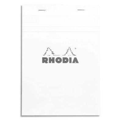 Bloc de direction Rodhia n°16 - 160 pages - 14,8 x 21 cm - 5x5 - blanc