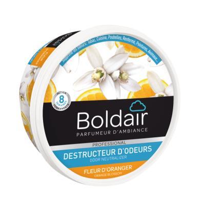 Gel destructeur d'odeur Boldair - parfum fleur d''oranger - 300 g
